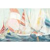 Breakwater Bay 'Rounding the Mark' by Marlene Lawrence Painting Print on Wrapped Canvas