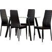 Modern You Essgruppe Hillary mit 4 Stühlen