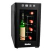 Decanter 8 Bottle Single Zone Freestanding Wine Refrigerator
