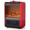 Pro Fusion Heat Ceramic Mini Fireplace 750/1,500 Watt Portable Electric Heater