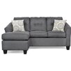 Andover Mills DeSales Reversible Chaise Sectional
