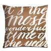 Artist Lane Most Wonderful Scatter Cushion