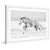 Marmont Hill 'Galloping Joy' Framed Painting Print