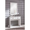 Castleton Home Creola Dressing Table with Mirror