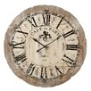 essex crafted wood products oversized 36 quot rochford viintage style painted wood wall clock