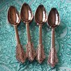 Designs By Embellish 10 Rose Gold Copper Dinner Spoon (Set of 10)