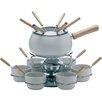 Excelsa 22 Piece Iron and Ceramic Fondue Set