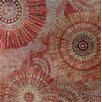 Vintage Boulevard Sequined Mandalas II Wall Art on Canvas in Red