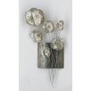 Vintage Boulevard Wanddekoration Metal Flower III