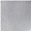 "Eden 33' x 20.5"" Abstract 3D Embossed Wallpaper Roll"