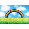 "Marmont Hill ""Bright Rainbow"" by Nicola Joyner Painting Print Canvas Art"