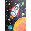 "Marmont Hill ""Rocket Ship"" by Nicola Joyner Painting Print Canvas Art"