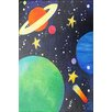 """Marmont Hill """"Planet Colors"""" by Nicola Joyner Painting Print Canvas Art"""