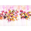 "Marmont Hill ""Blossoming Love"" by Julie Joy Painting Print on Wrapped Canvas"