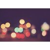 "Marmont Hill ""Bokeh Nights"" Graphic Art on Wrapped Canvas"