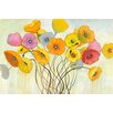 Marmont Hill 'Spring Harmony' by Julie Joy Painting Print on Wrapped Canvas