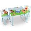 Delta Children 3-tlg. Tisch und Stuhl-Set Winnie the Pooh