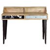 Borough Wharf Solana Beach Writing Desk with Hutch
