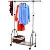 Hokku Designs 125cm H x 92cm W x 42cm D Heavy Duty Extendable Clothes Rails