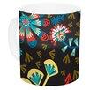 East Urban Home Wycinanka by Agnes Schugardt 11 oz. Abstract Ceramic Coffee Mug