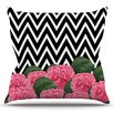 East Urban Home Camellia by Suzanne Carter Outdoor Throw Pillow