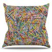 East Urban Home More Sprinkles by Project M Outdoor Throw Pillow