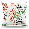 East Urban Home Multi Bouquet by Sonal Nathwani Outdoor Throw Pillow