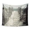 East Urban Home Welcome to the Beach by Jillian Audrey Wall Tapestry