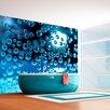 Artgeist Blue Bubbles 1.93m x 250cm Wallpaper
