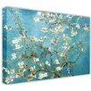 Hokku Designs Almond Blossom by Vincent Van Gogh Painting Print on Wrapped Canvas