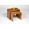 Hokku Designs Nero 2 Piece Nest of Tables