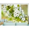 Artgeist Branch with White Cherry Blossoms 1.93m x 250cm Wallpaper
