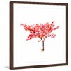"Marmont Hill ""Japanese Acer"" by Michelle Dujardin Framed Painting Print"