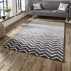 Think Rugs Spectrum Mathias Hand-Tufted Grey/White Area Rug