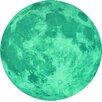 Walplus Wandtattoo Glow in Dark Moon