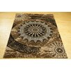 Castleton Home Moon Brown Area Rug
