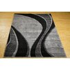 Castleton Home Finsbury Grey/Black Area Rug