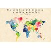 Marmont Hill 'The World Is Mud I' by Keren Toledano Graphic Art on Wrapped Canvas