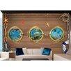 Artgeist Overboard 210cm x 300cm Wallpaper