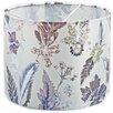 Hazelwood Home 30cm Winter Flourish Fabric Drum Lamp Shade