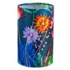 Hazelwood Home 15cm Tropical Fabric Drum Lamp Shade