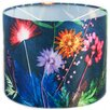 Hazelwood Home 30cm Tropical Fabric Drum Lamp Shade