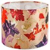 Hazelwood Home 30 cm Lampenschirm Autumn Flurry aus Stoff