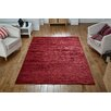 August Grove Ned Hand-Woven Red Rug