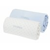 Noukies Cocoon 2 Piece Fitted Cot Sheets