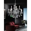Franklite Taffeta 12 Light Crystal Chandelier