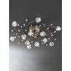 Franklite Podette 12 Light Semi-Flush Ceiling Light