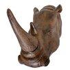 Harms Import Rhino Horn Wall Décor