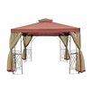 Harms Import 300 cm quadratisch Pavillon Tanaro