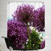 East Urban Home Allium Flower Shower Curtain